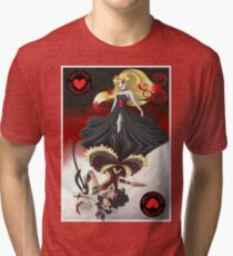 The Queen of Hearts Collaboration Tri-blend T-Shirt