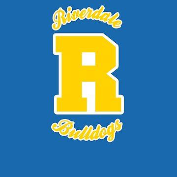 Riverdale Bulldogs Varsity Block R by JaymanCreative
