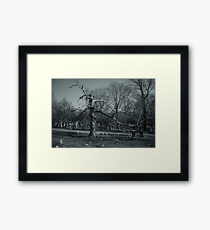 At Death's Door Framed Print