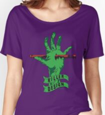Killer Design - Green Relaxed Fit T-Shirt
