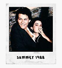 Jason Dean& Veronica Sawyer Photographic Print