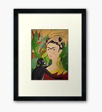 Tribute to Frida Framed Print