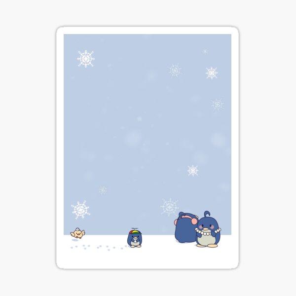 Pengwing Winter Sticker
