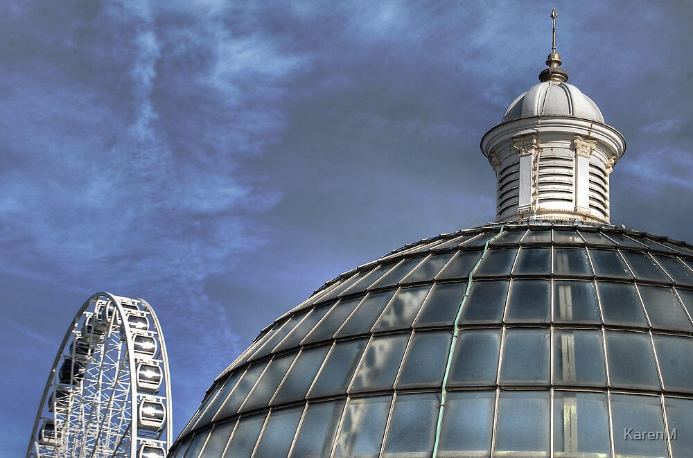 Wheel and Dome by KarenM