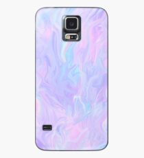 Pink Holographic Pastel Color Print Case/Skin for Samsung Galaxy
