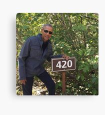 Lienzo 420 Obama Imprimir
