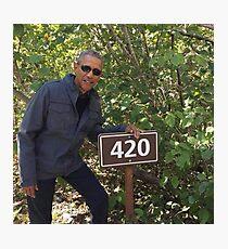Lámina fotográfica 420 Obama Imprimir