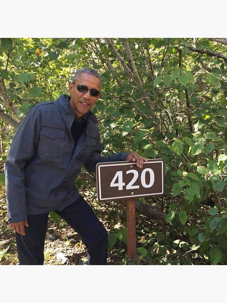 «420 impression Obama» par budgetnudest