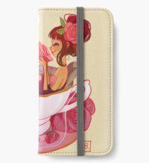 Tee Meerjungfrau iPhone Flip-Case/Hülle/Skin