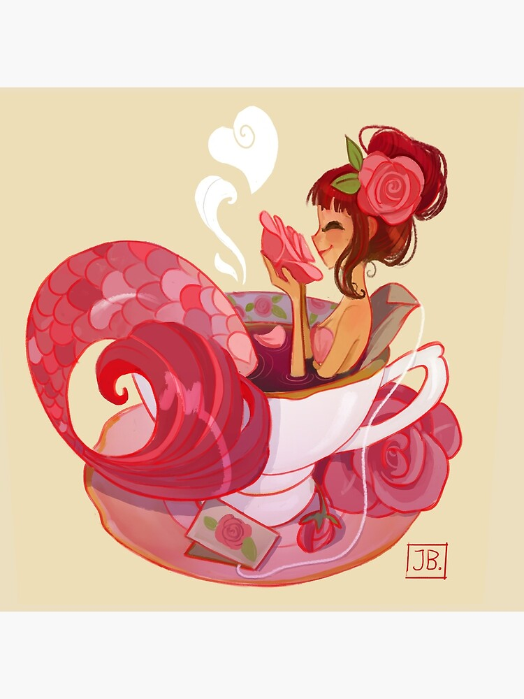 Tea Mermaid by JuliaBlattman
