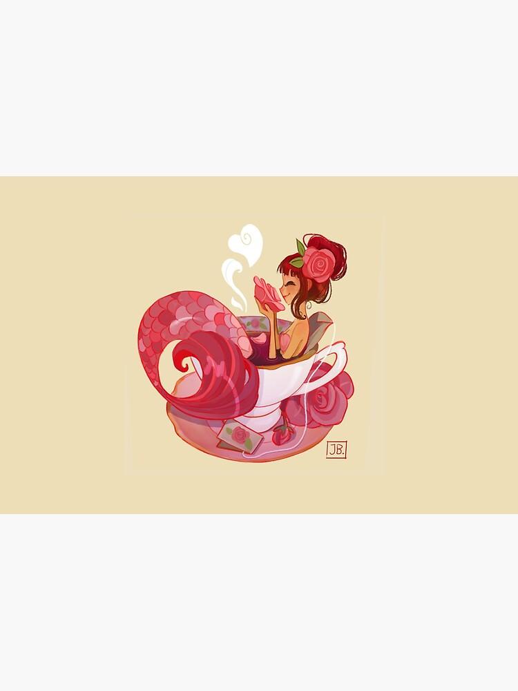 Tea Mermaid by JuliaBlattman