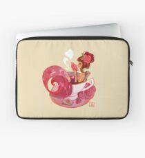 Tea Mermaid Laptop Sleeve