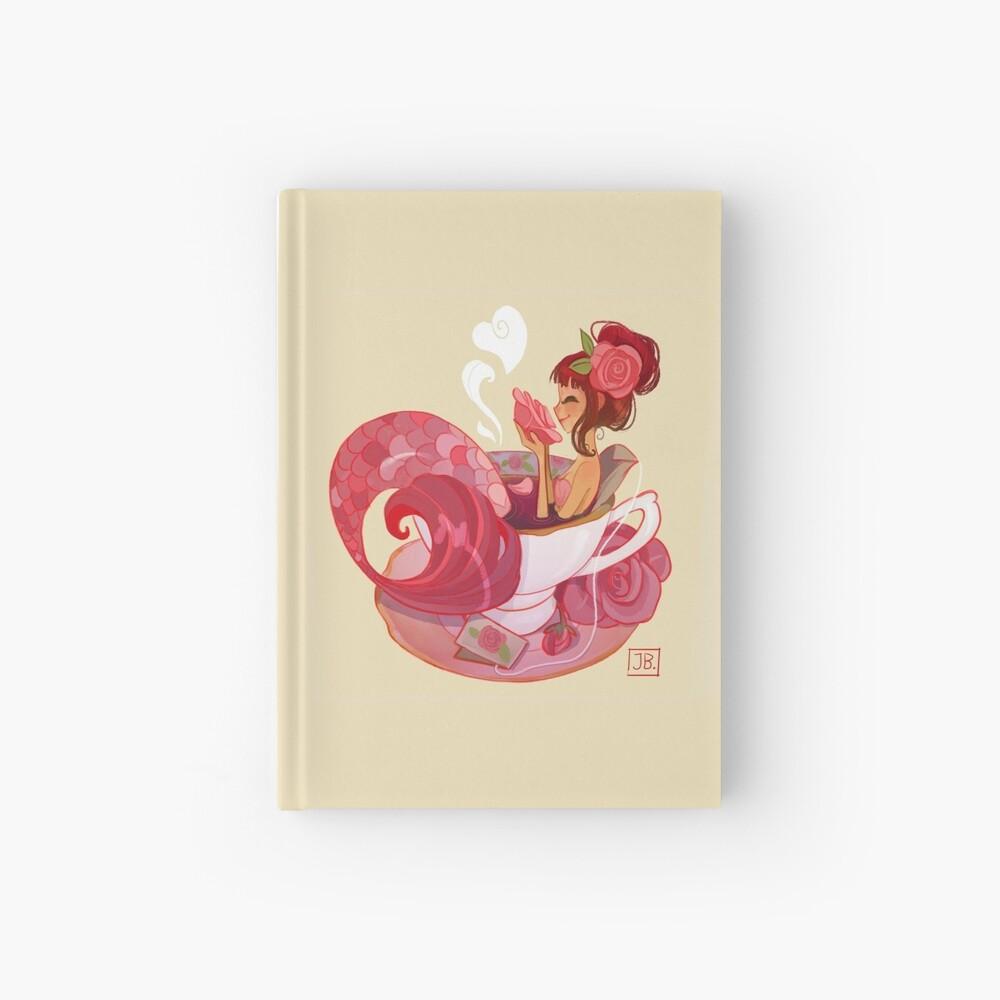 Tea Mermaid Hardcover Journal