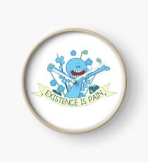 Existence is Pain Clock
