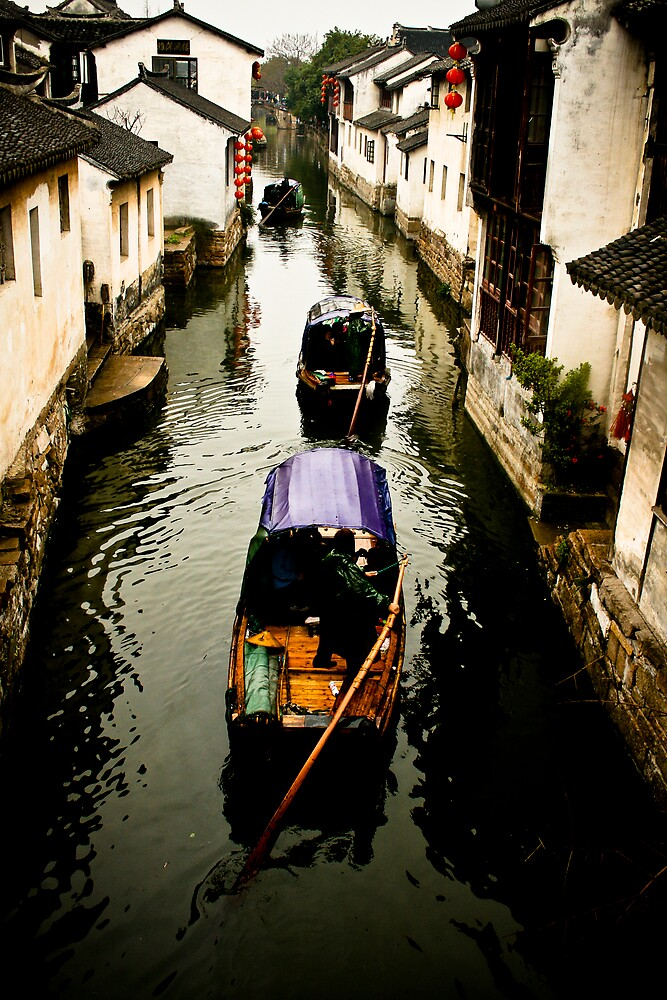 Suzhou Canal by Kyle Livingstone