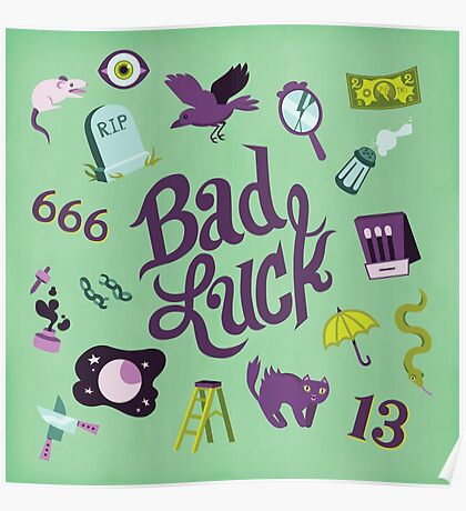Bad Luck Poster