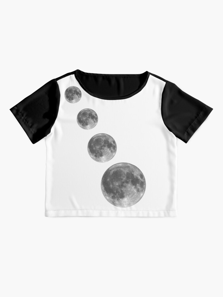 Alternate view of Full moon; Moon Chiffon Top