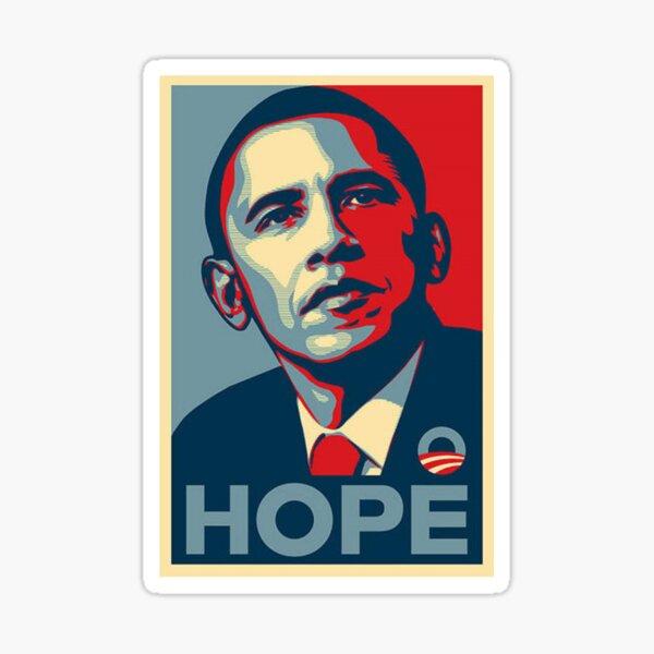Barack Obama Hope Poster Sticker