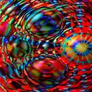 Egg Stream - digital art by Dave Martsolf