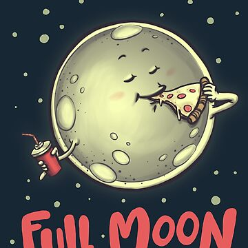 Full Moon by ursulalopez