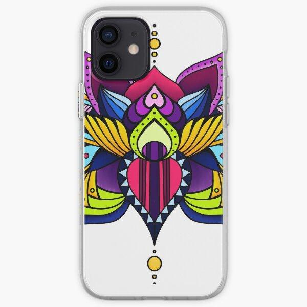 Aztec Lotus iPhone Soft Case