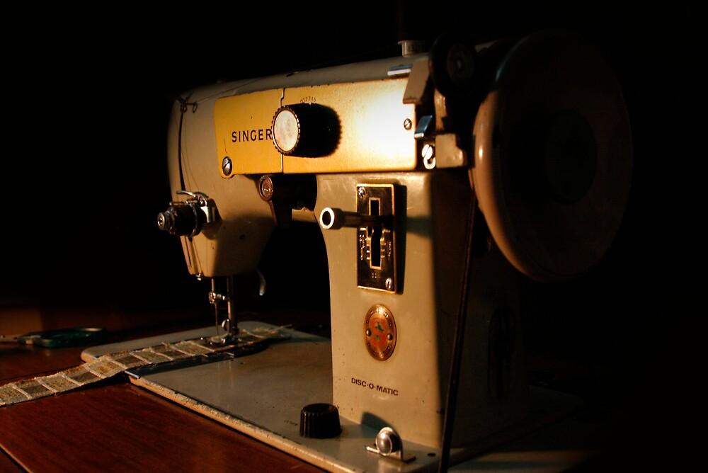 old school sewing machine 00 by jamie marcelo