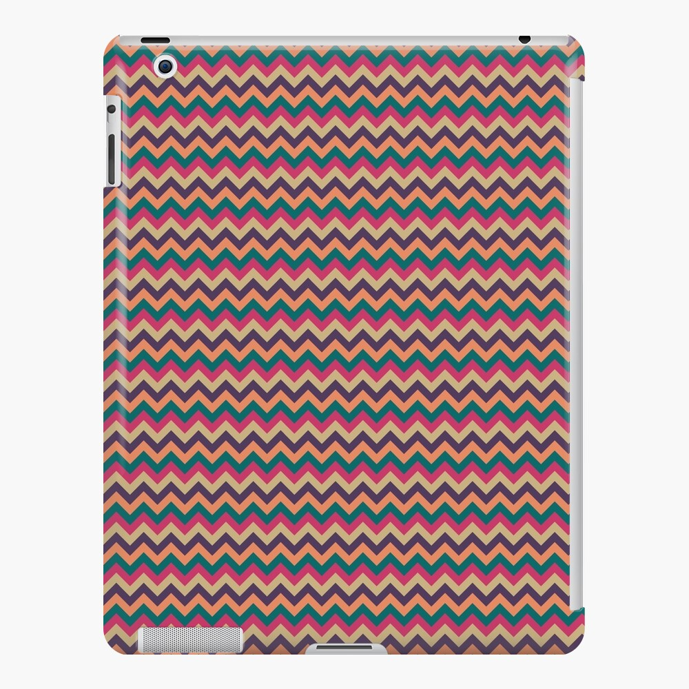 Tropical Zigzag iPad Case & Skin