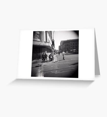 Corner blur Greeting Card
