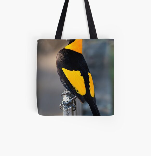 Regent Bower Bird - Lamington National Park, Australia All Over Print Tote Bag
