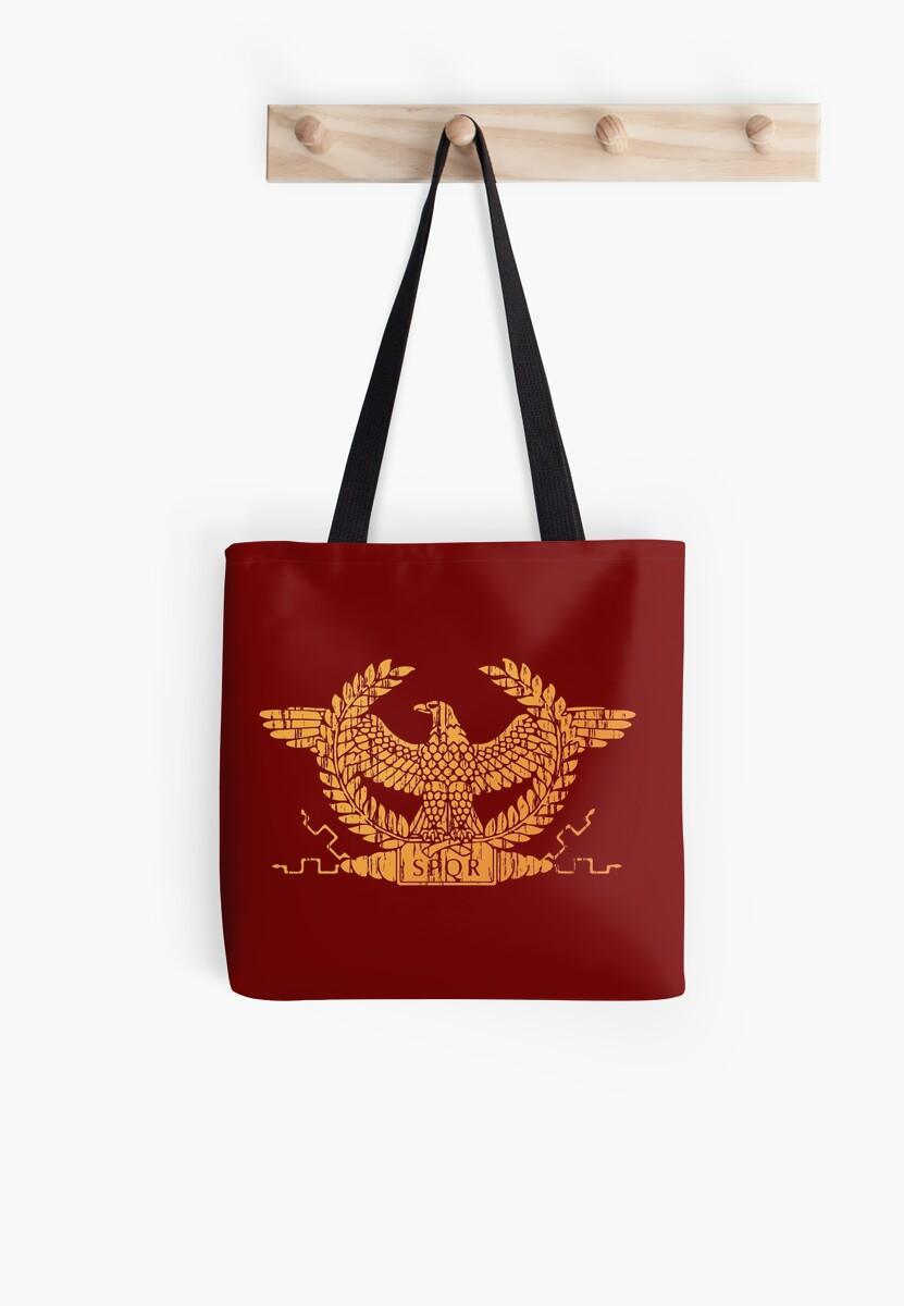 729219d09e43c Bolsas de tela «Bandera romana estándar de la bandera» de quark ...