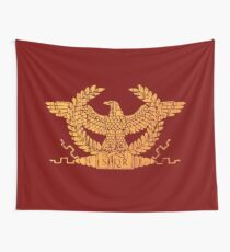Roman Empire Flag Standard Wall Tapestry