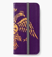 Byzantine Eagle Symbol Flag iPhone Wallet/Case/Skin