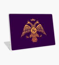 Byzantine Eagle Symbol Flag Laptop Skin