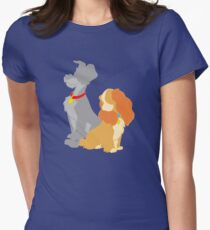 Two hounds Women's Fitted T-Shirt