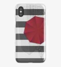 Rainy day in Manhattan iPhone Case/Skin