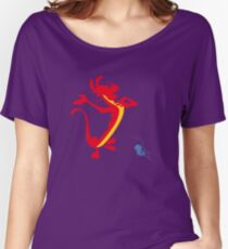 Dragon and Cricket Women's Relaxed Fit T-Shirt