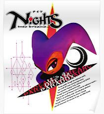 Nights Into Dreams (Japanese Art) Poster