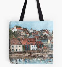 Pittenweem Bookcase Tote Bag