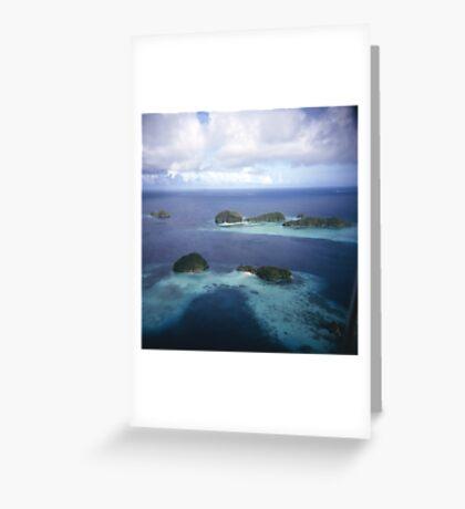 Rock Islands Greeting Card