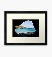 Natural Framing Framed Print