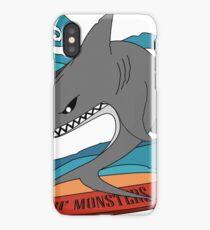 Surf Monsters - Shark on Board iPhone Case/Skin