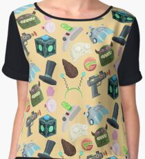 Sci Fi Objects Women's Chiffon Top