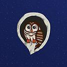Selene the Owl by Valerie Hartley Bennett