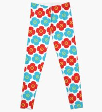 Flower pattern 7a Leggings
