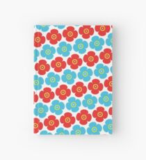 Flower pattern 7a Hardcover Journal