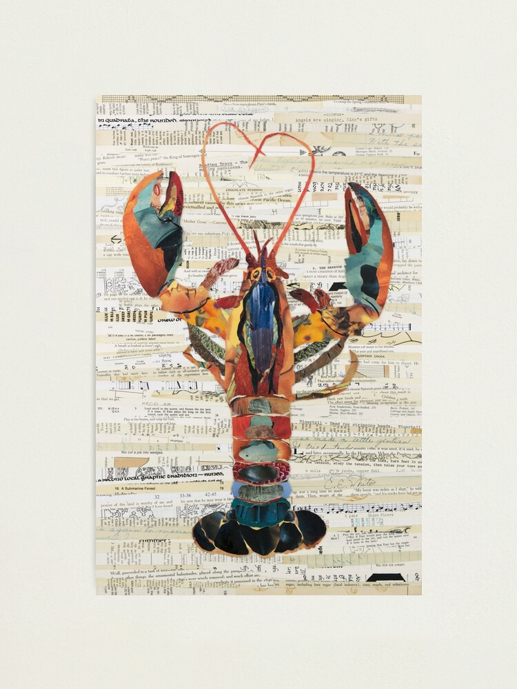 Alternate view of Lobster Collage by C.E. White  Photographic Print