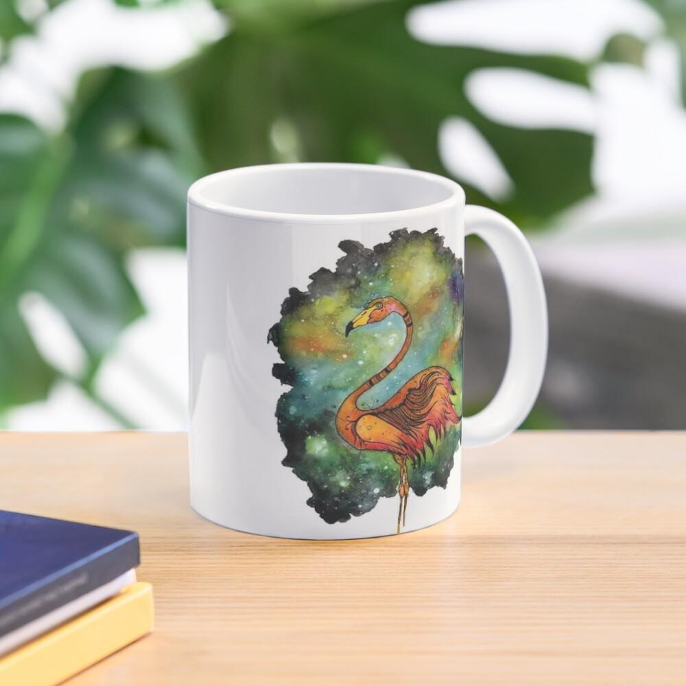 Galactic Flamingo  Mug