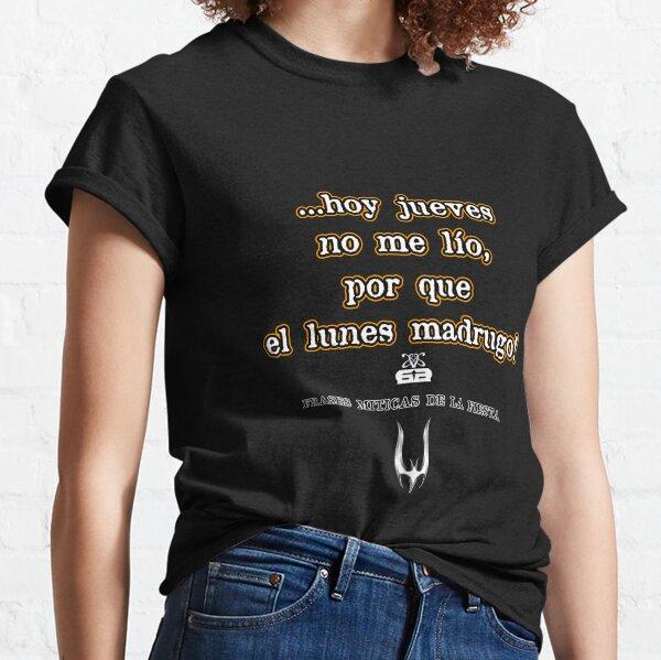 003)SOLOFrases-art-eddyscap Camiseta clásica