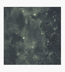 Deep blue galaxy Photographic Print