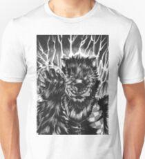 Angry cartoon werewolf T-Shirt